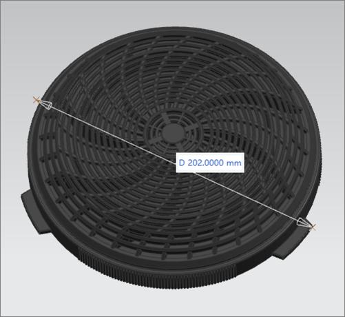 carbon filter cooker hood