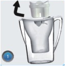 carbon water filter pitcher
