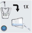 clean water pitcher