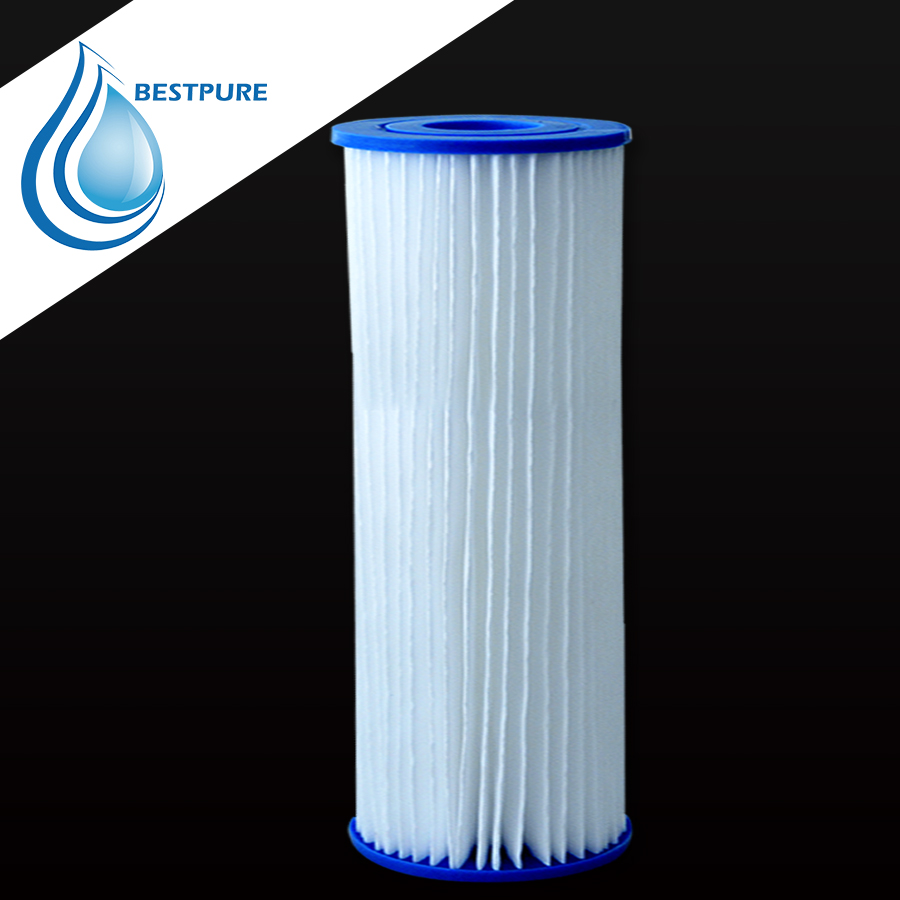 20 inch 99% filtering effect jumbo pleated filter cartridge for swimming pool
