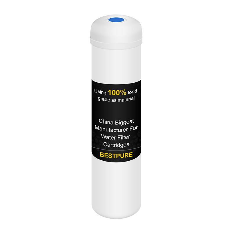 Post quick connect inline carbon filter