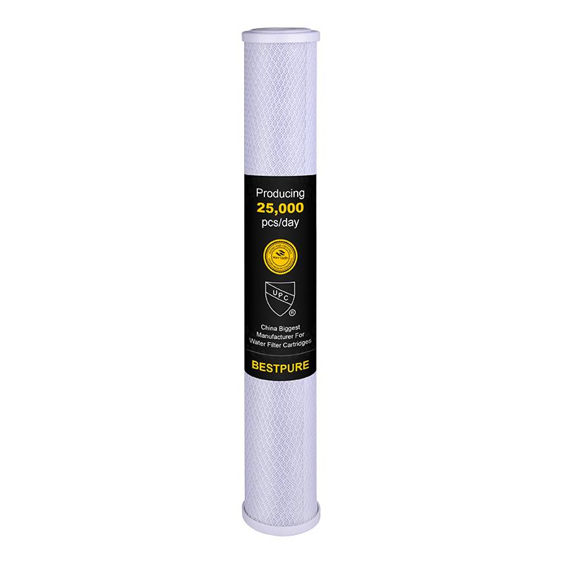 20X2.5 Inch CTO Carbon Block Water Filter Cartridge