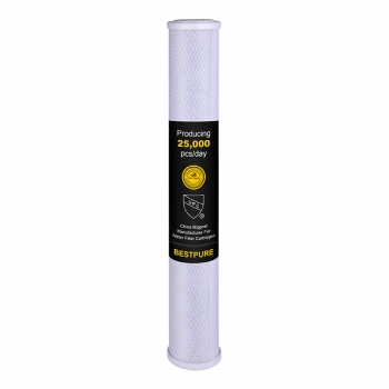 Best carbon water filter 20'' for whole house filtration system