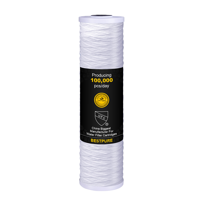 5 Micron 20 big blue string wound filters for household pre-filtration
