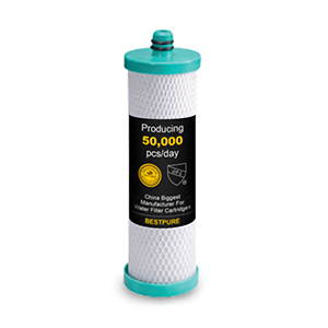 High quality activated carbon block filter cartridge CTO 10 inch
