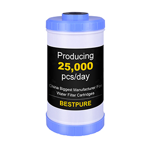 10x4.5 Inch Big Blue Granular Activated Carbon GAC Water Filter Cartridge