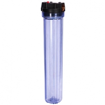 20 x2.5 Inch Standard Water Filter Housing Clear Body