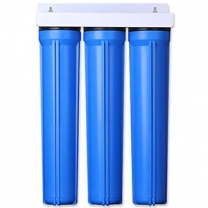 3 Stage 20x2.5 inch Water Filter Housing