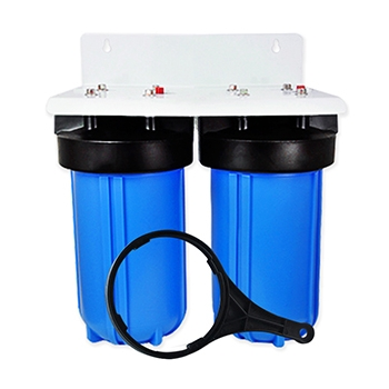 2 Stage 10x4.5 inch Big Blue Water Filter Housing