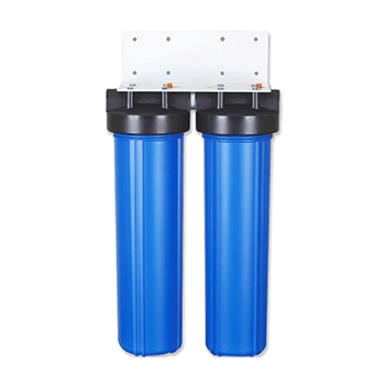 2 Stage 20x4.5 inch Big Blue Water Filter Housing