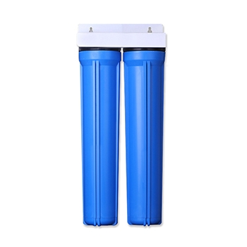 2 Stage 20x2.5 inch Water Filter Housing