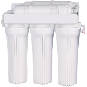 Under sink water filter 3-stage max flow