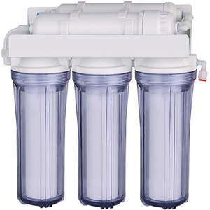 Super capacity 3-stage water filtration system