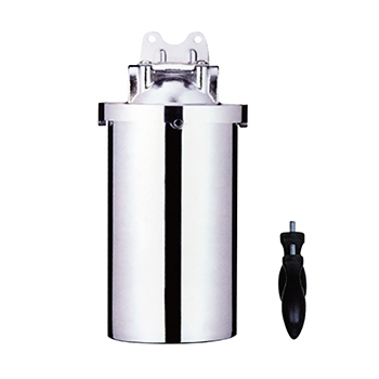Pentek 3/4'' stainless steel filter housing