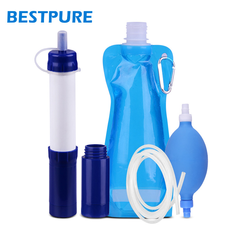 Outdoor Portable Water Filter for Camping Hiking Travel