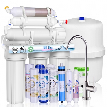 6 Stage Under Sink RO System for Home