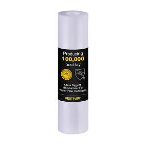 NSF Certified 10 inch Spun Polypropylene For Ro System