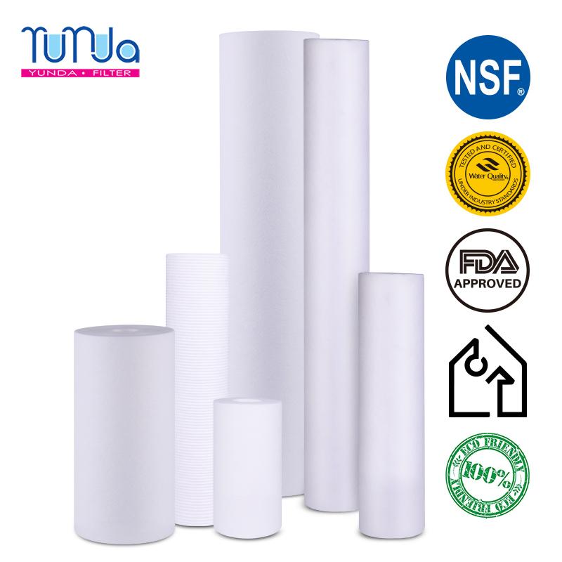 PP Spun Filter Cartridge, 10 x 2.5 inch PP Spun Filter Cartridge