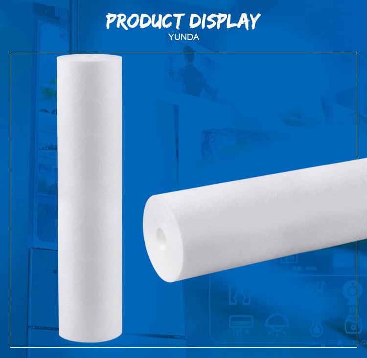 PP Spun Filter Cartridge Price,  20 x 4.5 Inch PP Spun Filter Cartridge Price