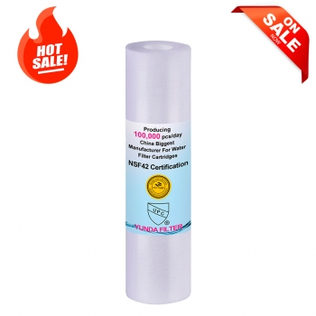 10X2.5 Inch Pre PP Poly Spun Melt Blown Water Sediment Filter 5% OFF Now