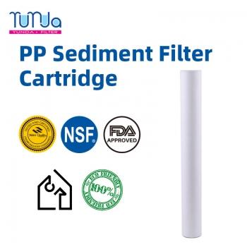 PP Spun Sediment Filter, 20 x 2.5 PP Spun Sediment Filter