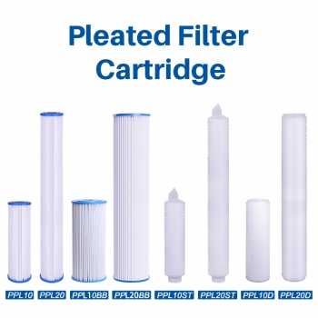 Pleated Polyester Filter Cartridge