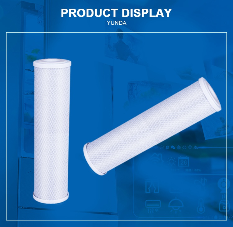 Big Blue 20 Carbon Water Filter, 20x4.5 Activated Carbon Filter