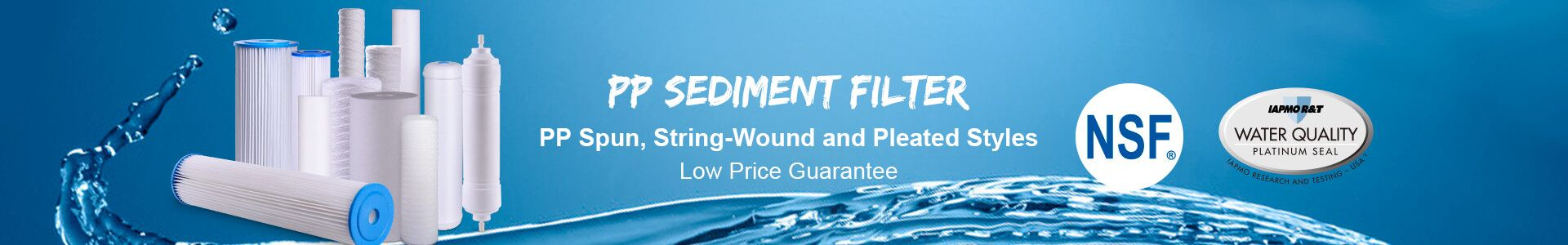 Sediment Filter Cartridges