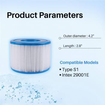 Pool Filter Intex Type S1 Fits for Intex-29001E