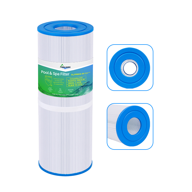 Pool Spa Cartridge Filter or Pleatco PRB25IN, Unicel C-4326, Filbur FC-2375
