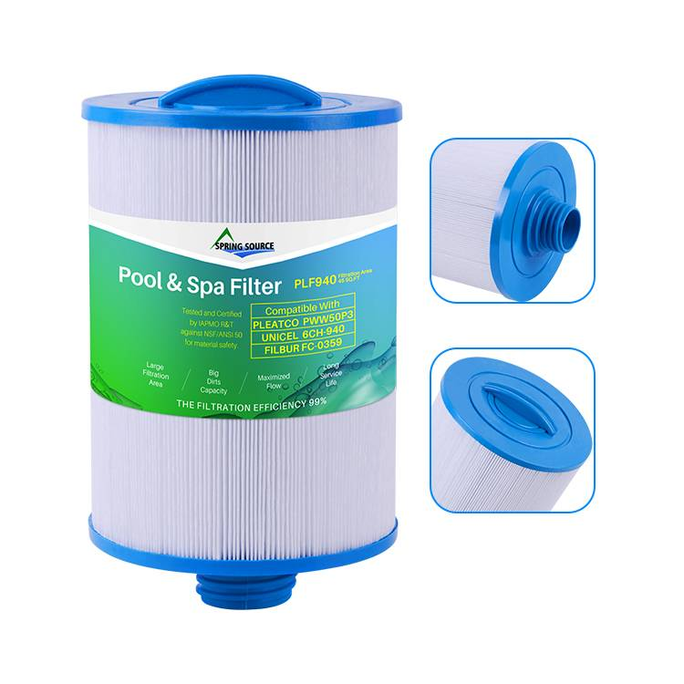 Hot Tub Spa Water Filter Cartridge for PWW50P3, 6CH-940, FC-0359