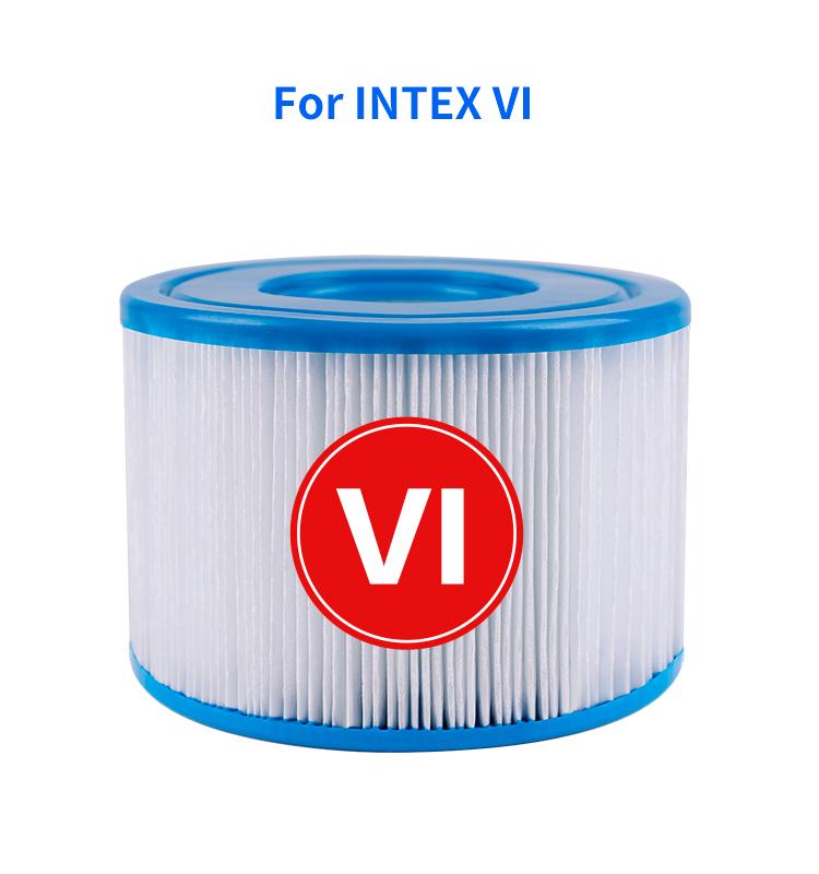 Type VI, 90352E Small Pool & Spa Filter Cartridges against NSF/ANSI 50