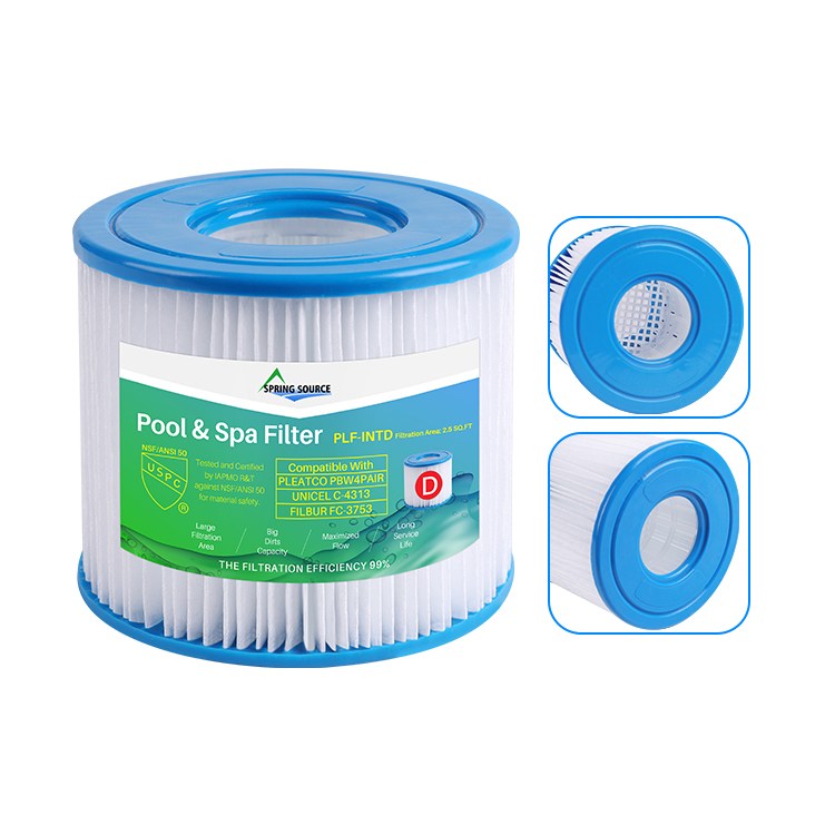 Wholesale Type D Swim Pool Filters for Intex, Aqua Leisure, Summer Waves