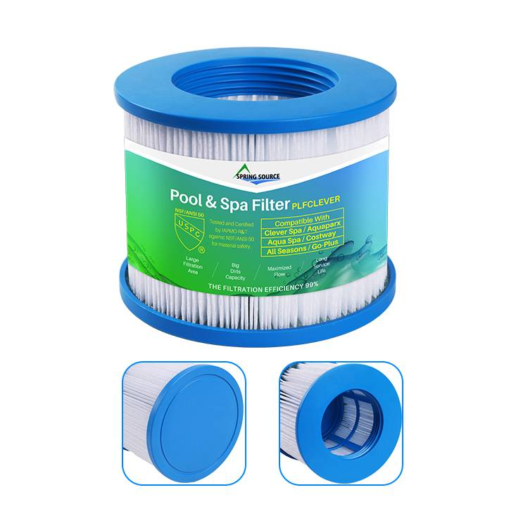 Hot Tub Water Filters for Clever Spa | NSF/ANSI 50 Tested for Sale/ Distribution