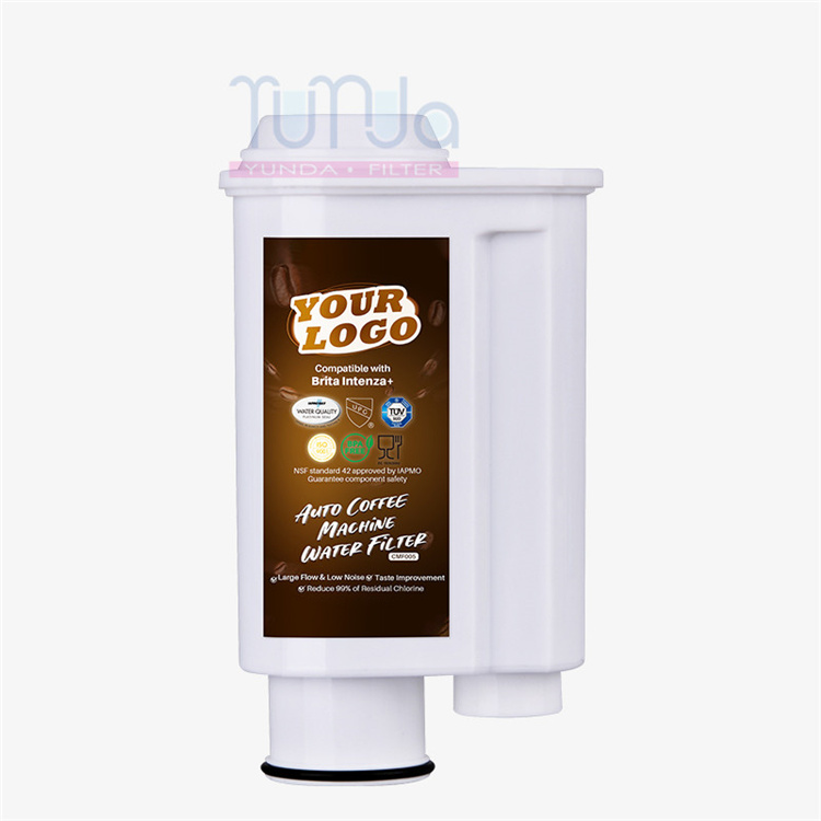 NSF/ANSI 42 Approved Coffee Machine Water Filter Compatible with Brita Intenza+
