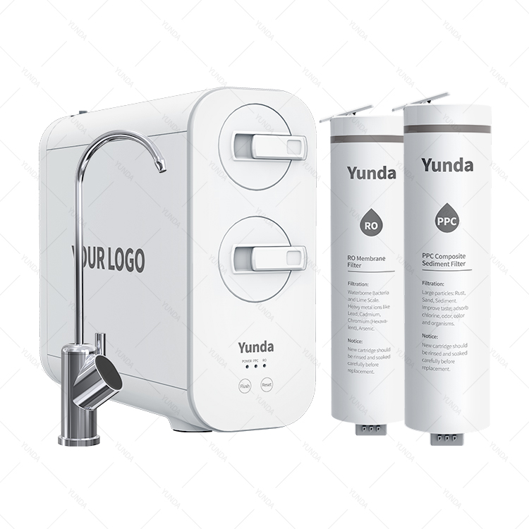 Home Tankless RO Water Purifier Filtration System