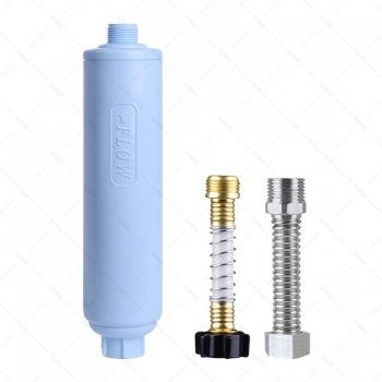 RV Water Filter With Flexible Hose Protector for Camco, Clear2o