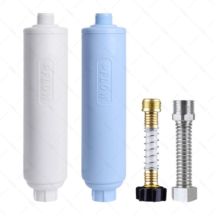 2-Pack Outdoor RV Pre Water Filters/ Inline Garden Hose Filter Cartridges