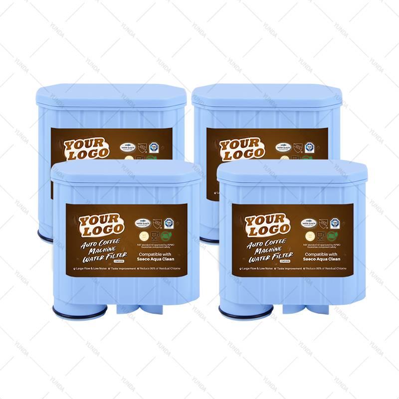 4- Pack Wholesale Coffee Machine Cartridge Filters for Saeco, Aqua Clean