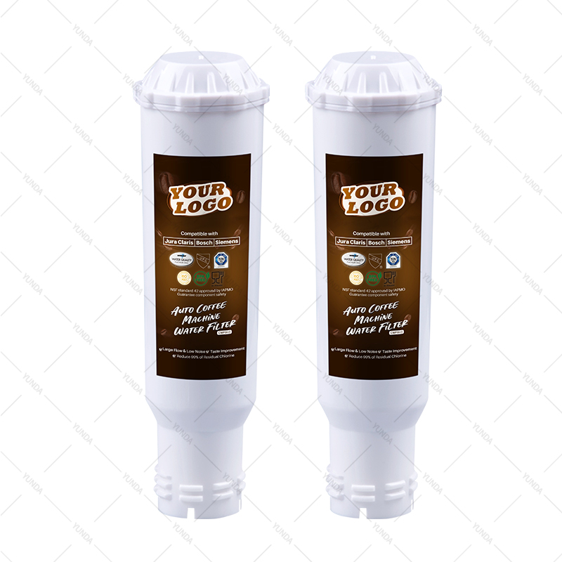 2-Pack TCZ6003 Water Filters for Jura Claris, Krups F088 Machines