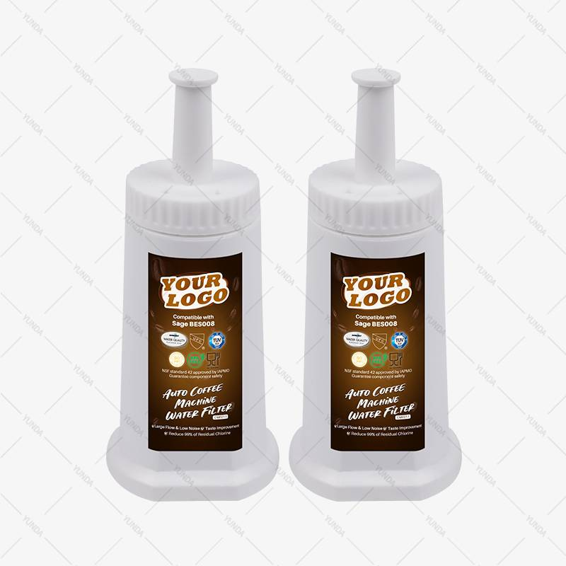 2-Pack Coffee Making Machine Water Filters for Espresso, Sage, ClaroSwiss