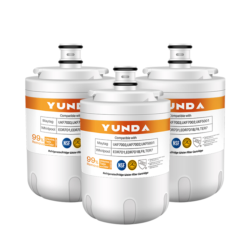 3-Pack Manufacturer Factory Supply Refrigerator Water Filters