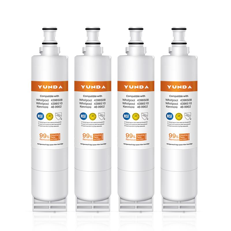 4-Pack 4396508 Wholesale Distribution Fridge Filter Custom Making