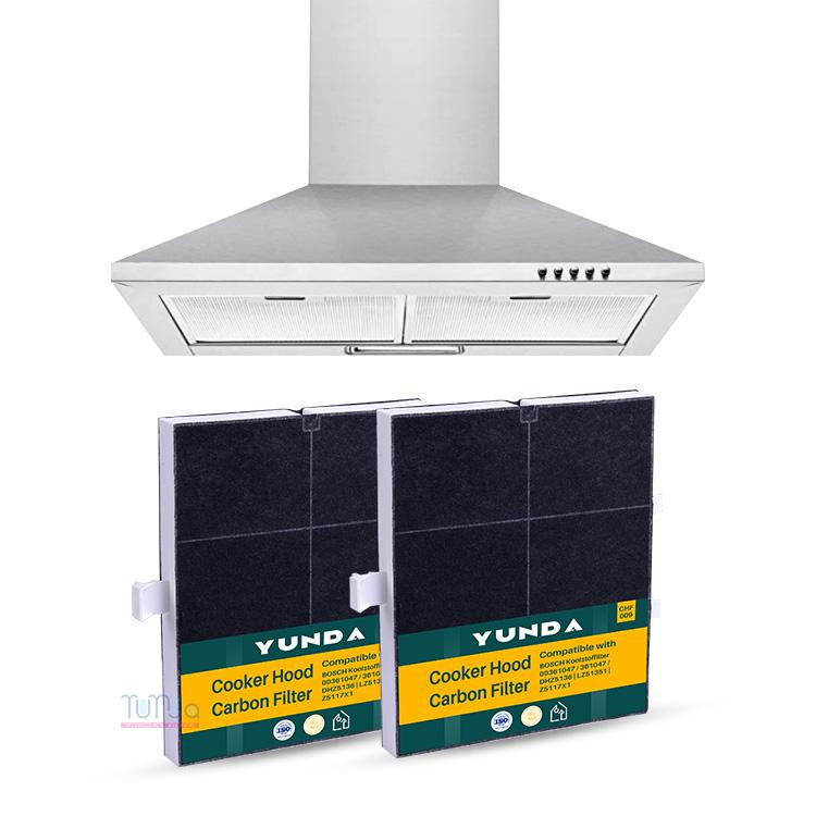 Bosch 00361047, Siemens LZ51350 Compatible Hood Charcoal Carbon Range Filter
